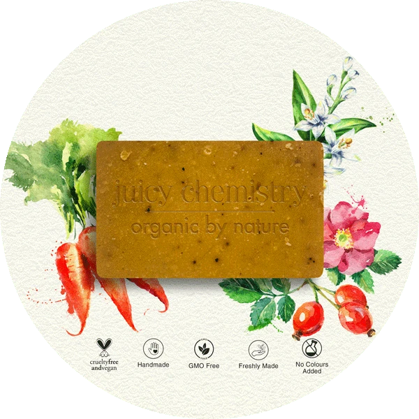 Carrot, Rosehip & Neroli Organic Cold Pressed Soap - Riviera Closet