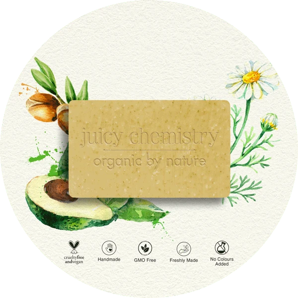 Chamomile, Argan & Avocado Organic Cold Pressed Soap - Riviera Closet