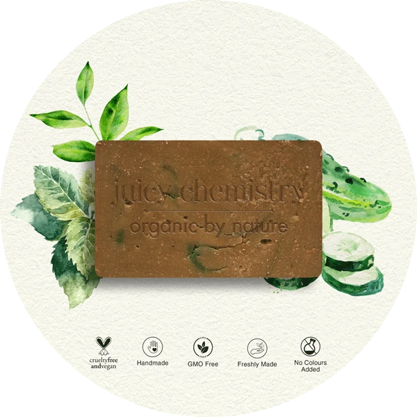 Cucumber, Matcha & Spearmint Organic Cold Pressed Soap - Riviera Closet