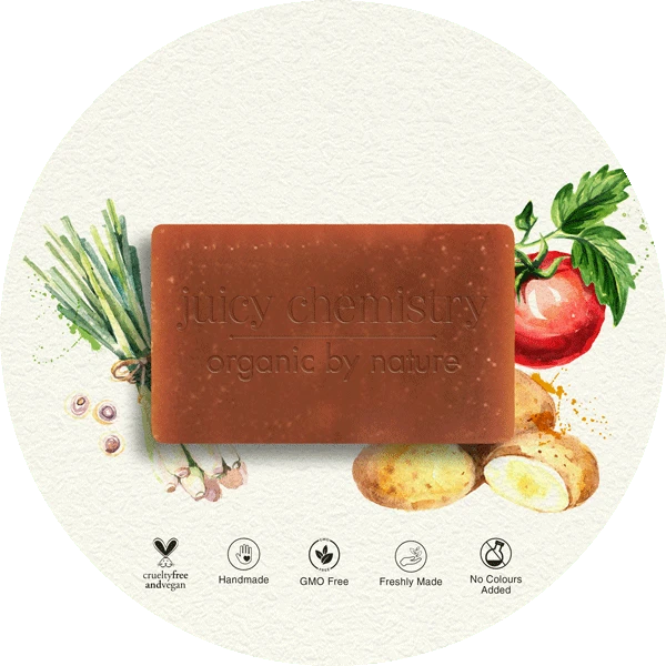 Potato, Tomato & Lemongrass Organic Cold Pressed Soap - Riviera Closet