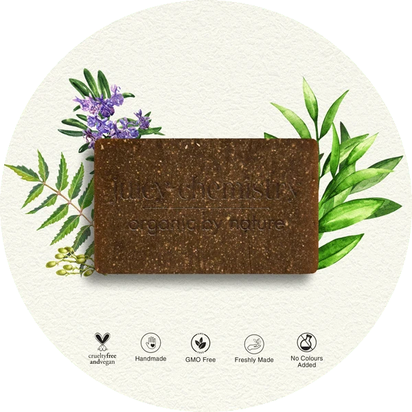 Tea Tree, Neem & Rosemary Organic Cold Pressed Soap - Riviera Closet