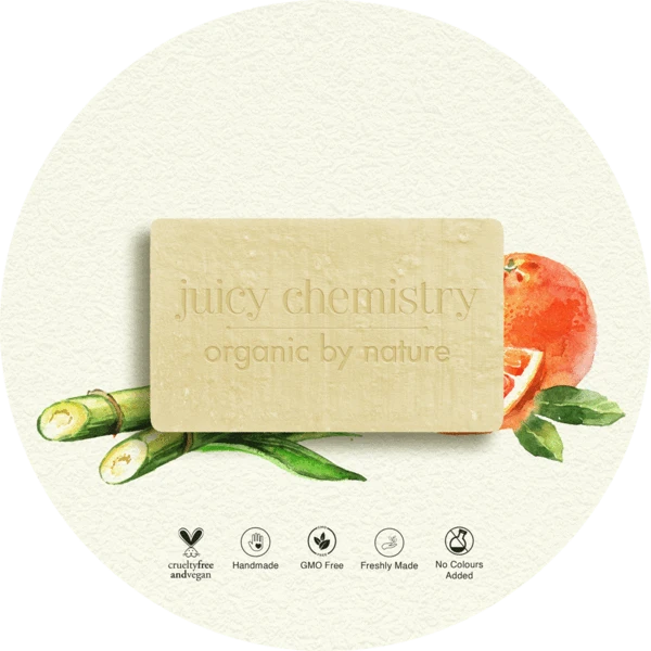 Sugarcane & Grapefruit Organic Cold Pressed Soap - Riviera Closet