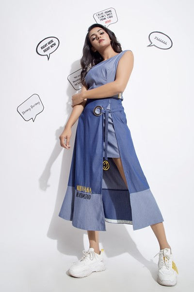 Inch Tape Crop Top and Nirvana Skirt  - Riviera Closet