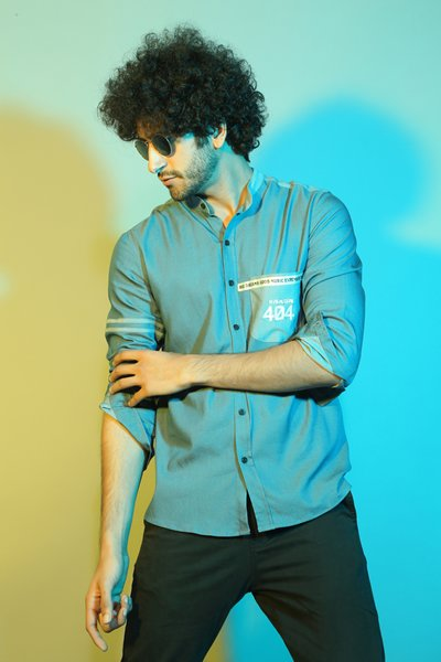 404 Error Blue Shirt - Riviera Closet