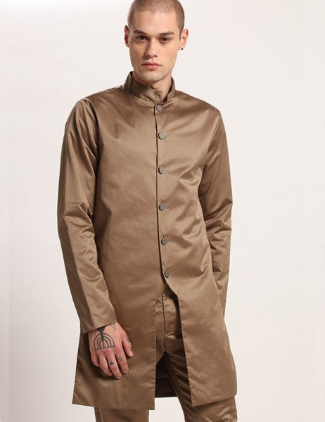 RICHARD LONG KHAKHI JACKET - Riviera Closet