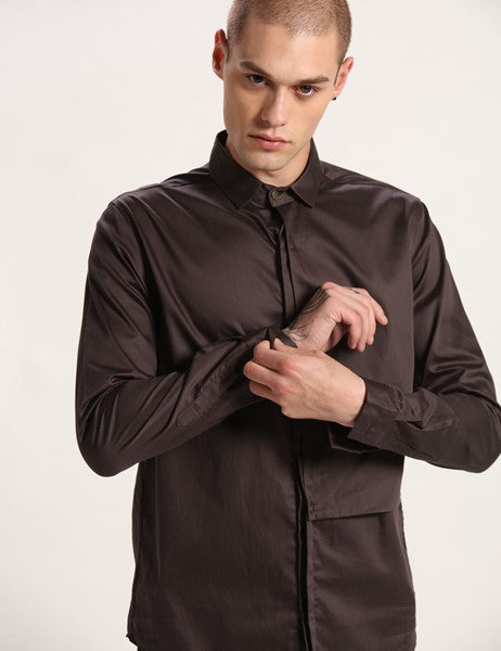 WEST GREY SHIRT - Riviera Closet