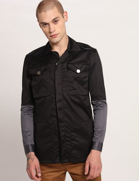 LOUIS BLACK JACKET - Riviera Closet
