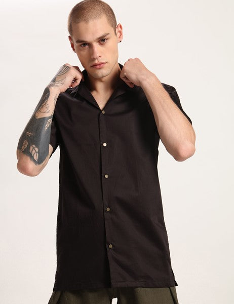 ALEX BLACK SHIRT - Riviera Closet