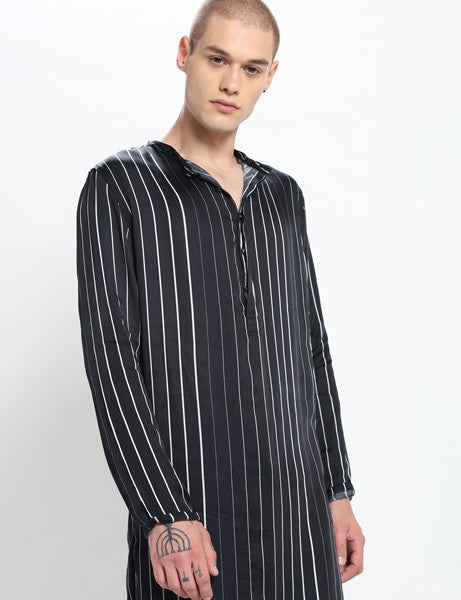 BILL STRIPED KURTA SET - Riviera Closet