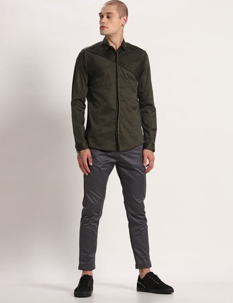 WEST DEEP GREEN SHIRT - Riviera Closet
