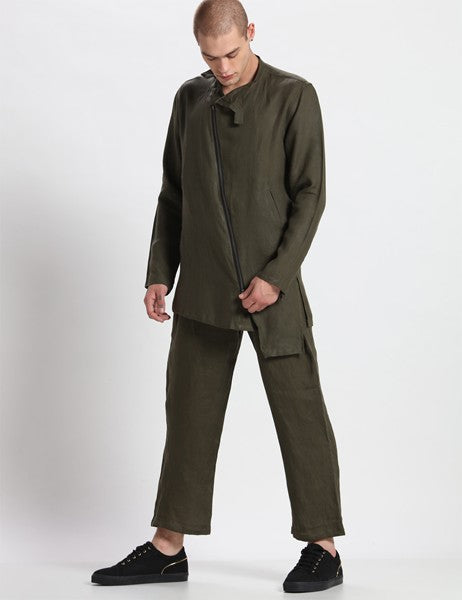 NEVADA DEEP GREEN SHACKET - Riviera Closet