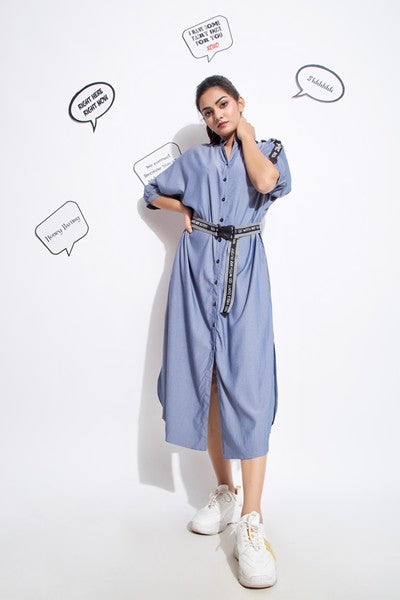 Denim Energy Dress  - Riviera Closet
