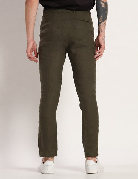 TOCO DEEP GREEN PANTS - Riviera Closet