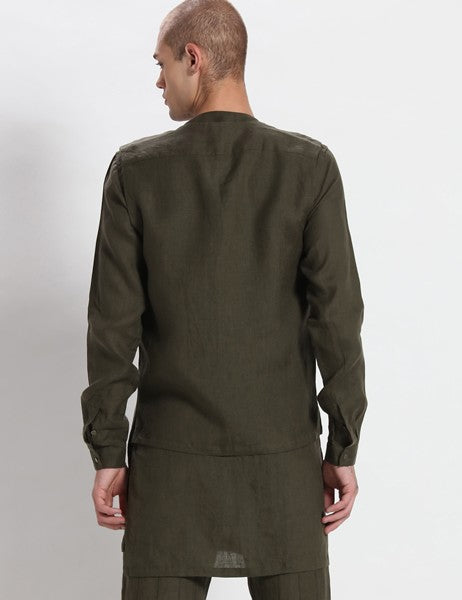 KOBE DEEP GREEN JACKET - Riviera Closet