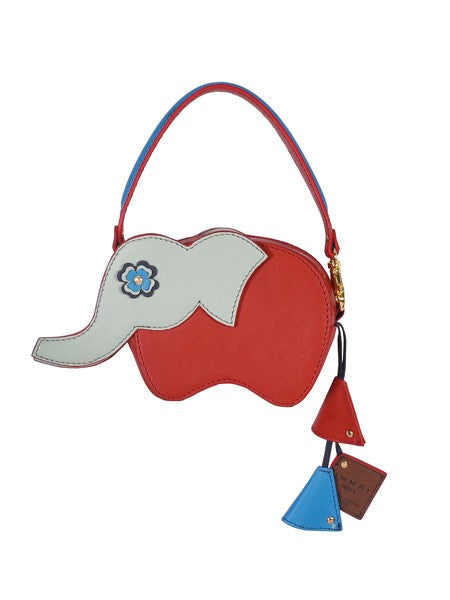 Red Elephant Wallet Belt Leather Bag - Riviera Closet