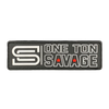 Savage Patch - One Ton Savage - Savage Barbell