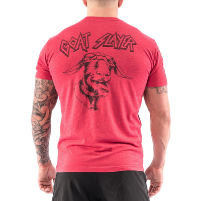 Men's T-shirt - Goat Slayer - Savage Barbell