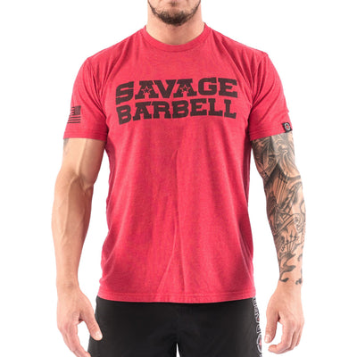 Men's T-shirt - Classic Red Savage