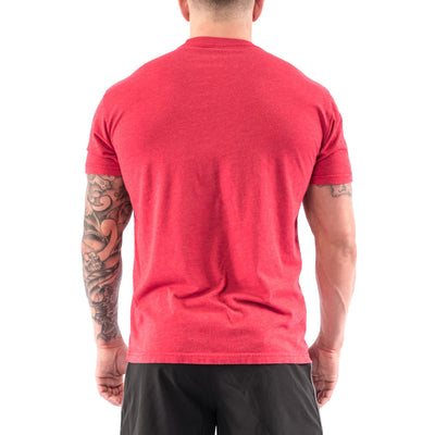 Men's T-shirt - Classic Red Savage - Savage Barbell