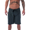 Men's Shorts - Freak Board Shorts - Charcoal - Savage Barbell