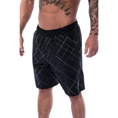 Men's Shorts - Gym - Black - Savage Barbell