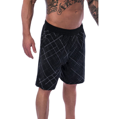 Men's Shorts - Gym - Black - Savage Barbell Apparel