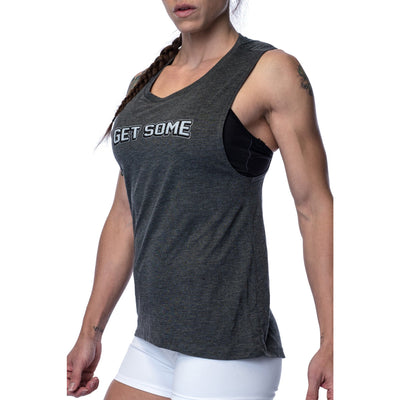 Women's T-Shirt - Get Some Muscle Tee - Savage Barbell Apparel