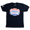 2020 Team Savage - Black - Savage Barbell Men's T-Shirt - Savage Barbell