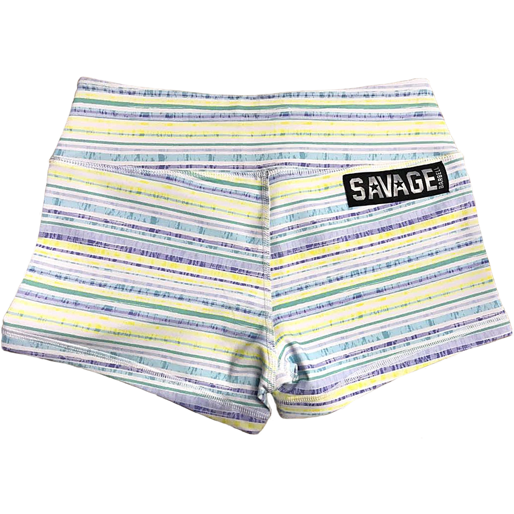 Booty Shorts - Spring Fling - Savage Barbell