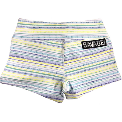 Booty Shorts - Spring Fling - Savage Barbell Apparel