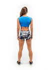 Booty Shorts - Gray Camo - Savage Barbell Apparel