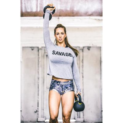 Booty Shorts - Gold Digger - Savage Barbell
