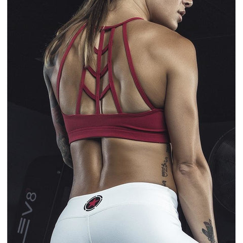 Sports Bra - Scarlet Web