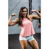 CrossBack Tank Top - Coral - Savage Barbell