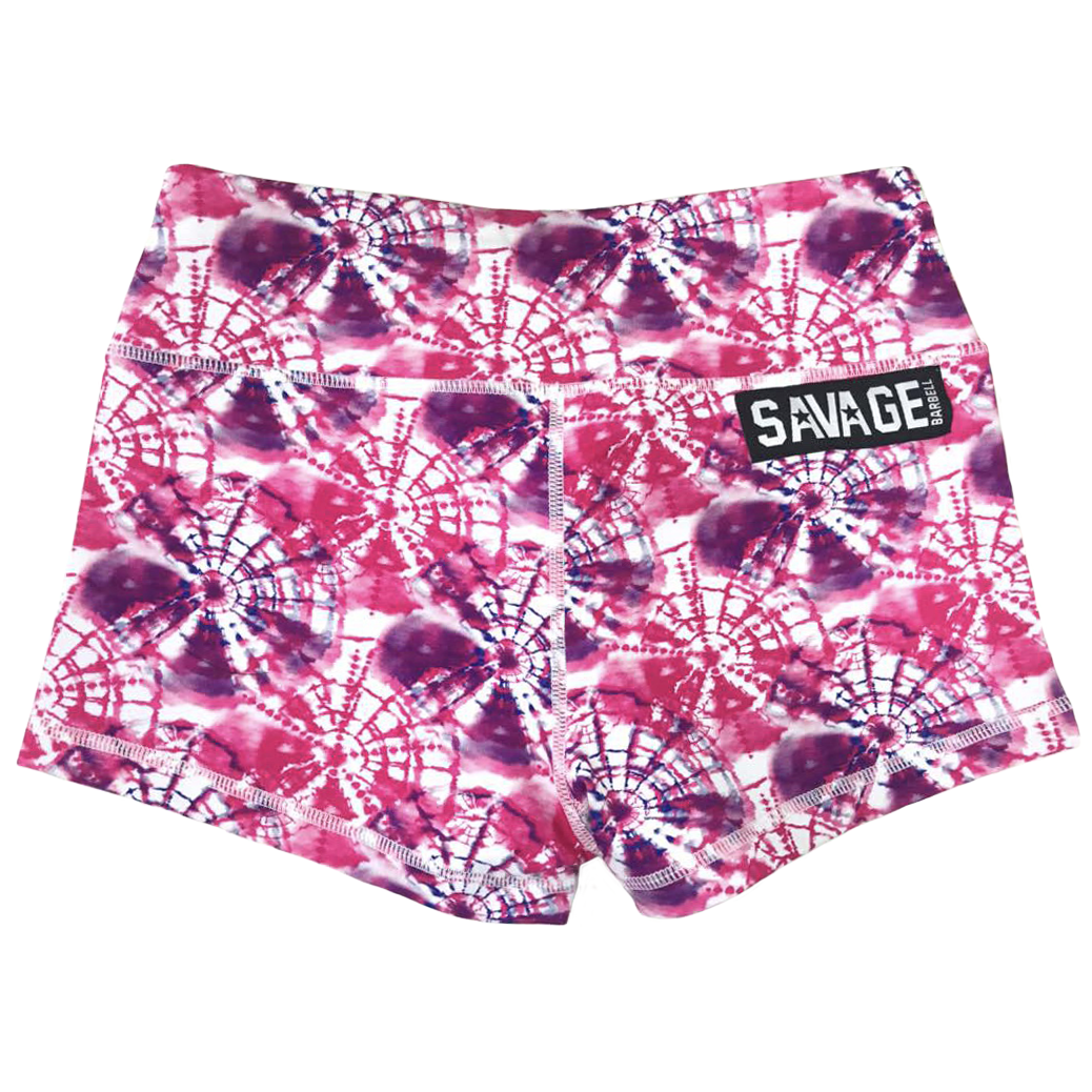 Booty Shorts - Hippie Pink - Savage Barbell