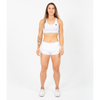 Pacer Speed Shorts - White - Savage Barbell