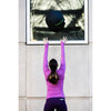 Long Sleeve Yoga Top - Lilac - Savage Barbell