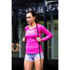 Long Sleeve Yoga Top - Hot Pink - Savage Barbell