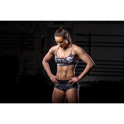 Sports Bra - Camo - Savage Barbell Apparel