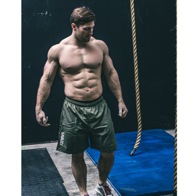 Men's Shorts - Competition - Army - Savage Barbell Apparel
