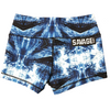 Booty Shorts - Blue Matrix - Savage Barbell