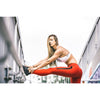 "28"" Full Leggings - Red 2.0 - Savage Barbell"