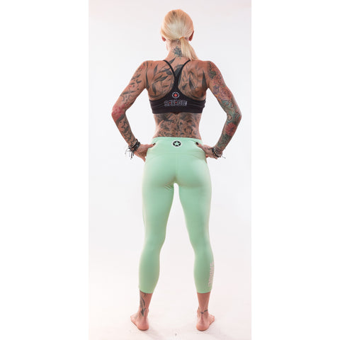 Capri Leggings - Sea Foam Green