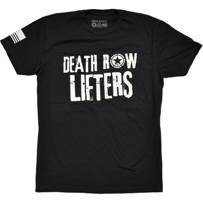 Men's T-shirt - Death Row Lifters - Savage Barbell