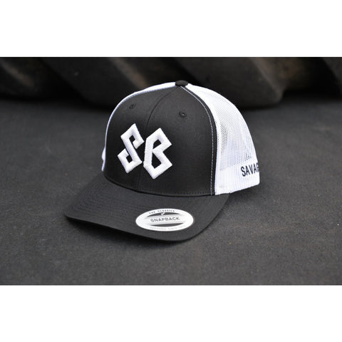 SB Logo - Savage Barbell Trucker Hats