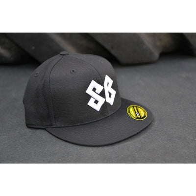 Hat - Premium Flat Bill Fitted
