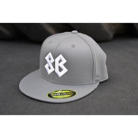 Premium Flat Bill Savage Barbell Fitted Hat