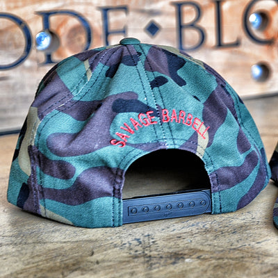 Hat - Red Star Camouflage /  Snap Back