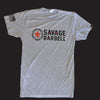 Men's T-shirt - Classic Gray - Savage Barbell