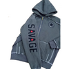 Full Size Hoodie - Charcoal - Savage Barbell